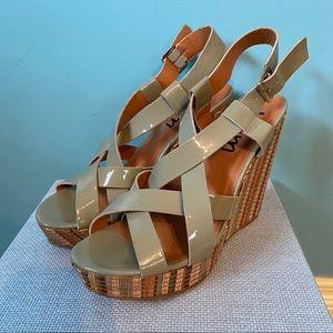 K&M platform sandals